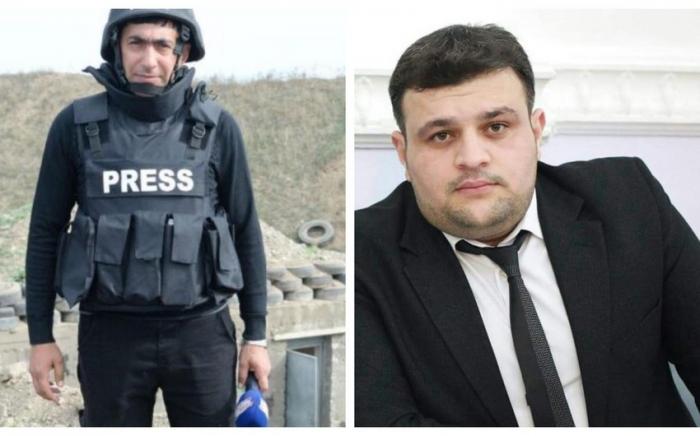 Prezident və birinci xanım jurnalistlərin ölümü ilə bağlı başsağlığı verib