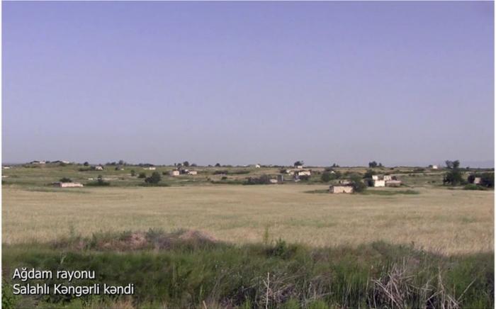 لقطات من قرية صلاحلي كنغرلي بمنطقة أغدام -   فيديو
