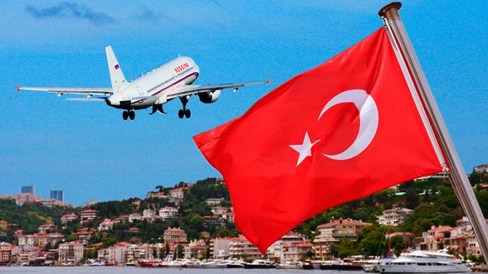Antalyaya bir həftədə 120 min rus turist gəldi