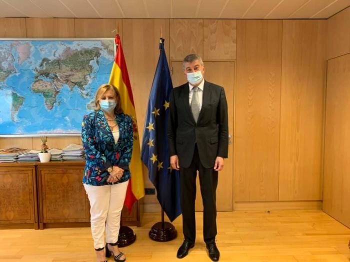 Se abordaron las perspectivas de fortalecimiento de las relaciones entre Azerbaiyán y España