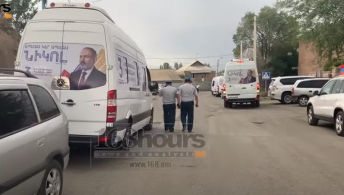"""Paşinyan saxtakarlığa əl atdı:  """"Tərəfdar ordusu""""nun ifşası -  VİDEO"""