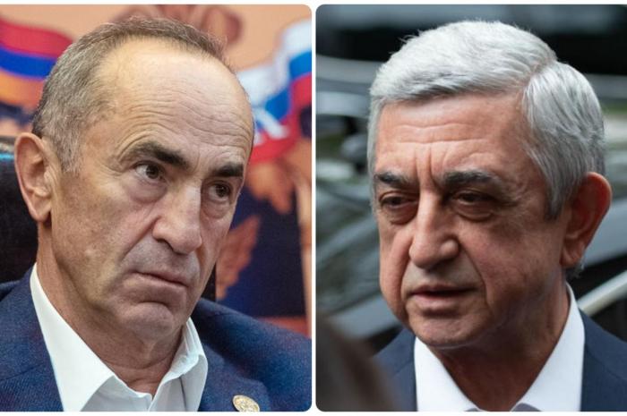 Koçaryanla Sarkisyan arasında kreslo davası -  Yeni qalmaqal başlayır