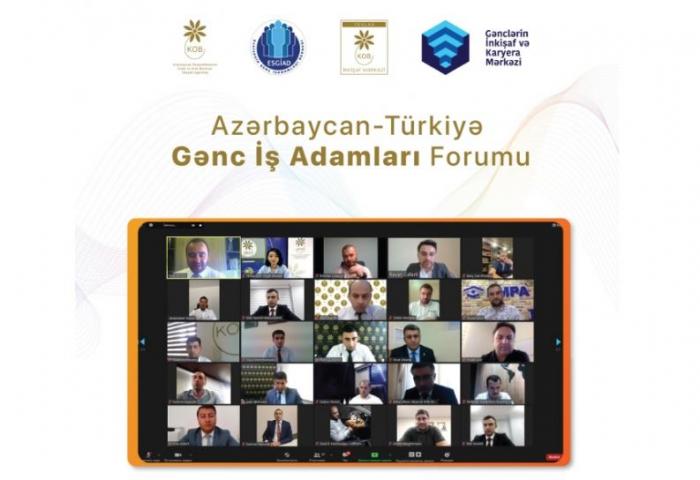 Azərbaycan-Türkiyə Gənc İş Adamları Forumu keçirilib