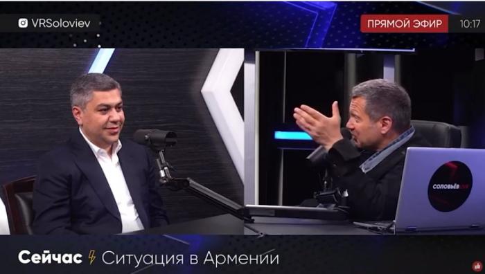 """Erməni siyasətçidən absurd açıqlama:  """"Krım bizimdir"""" - VİDEO"""