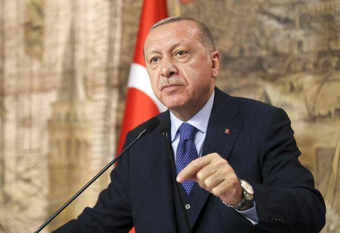 """Erdogan:   """"Como resultado de la guerra de 44 días, Karabaj volvió a sus dueños"""""""