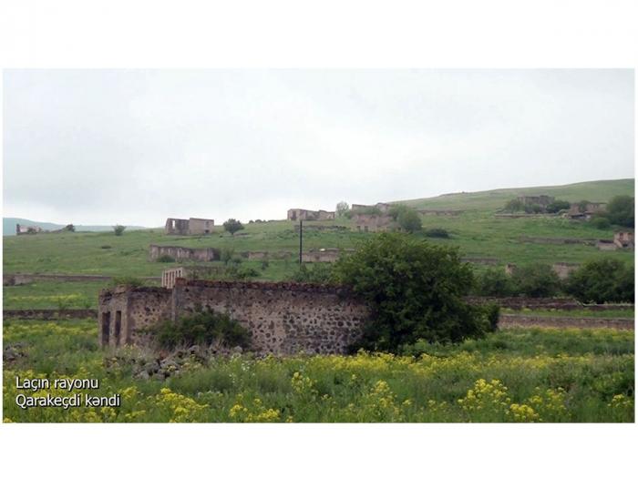 Laçın rayonunun Qarakeçdi kəndi -  VİDEO