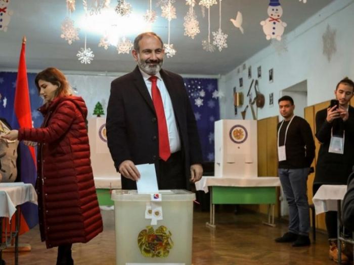 Ermənistanda parlament seçkilərinin yekun nəticələri açıqlanıb