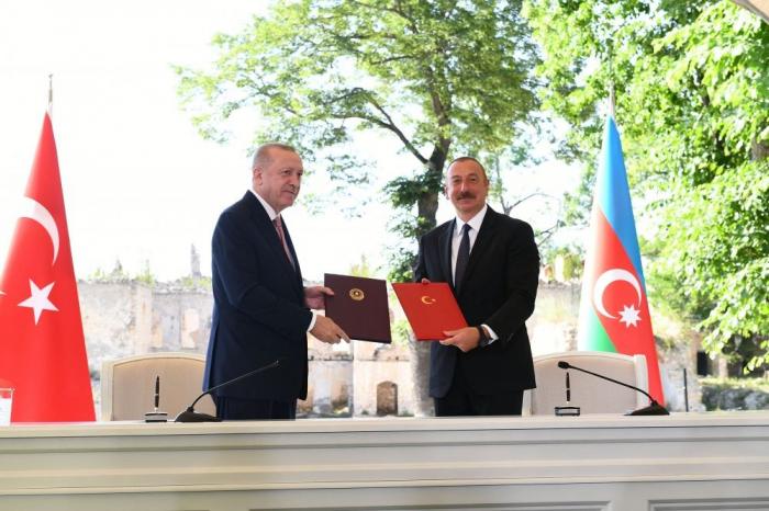 Azerbaijan, Turkey sign Shusha Declaration - UPDATED