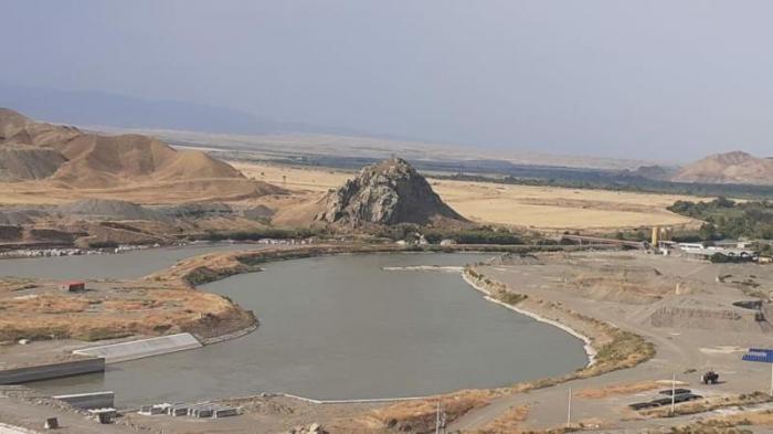 Qız qalası su anbarından yeni su kanalı tikiləcək
