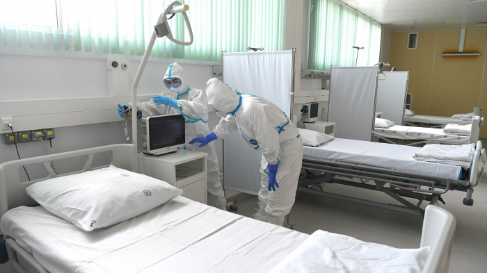 Rusiyada virusdan ölənlərin sayı 124 mini ötdü