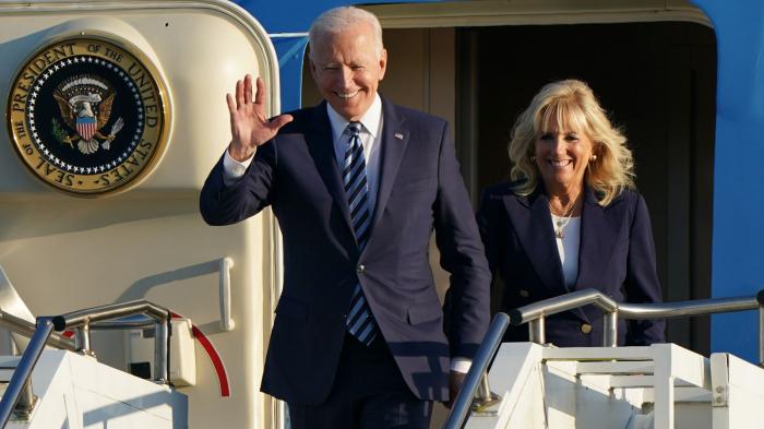 USA: le président Biden effectue son premier voyage officiel à l