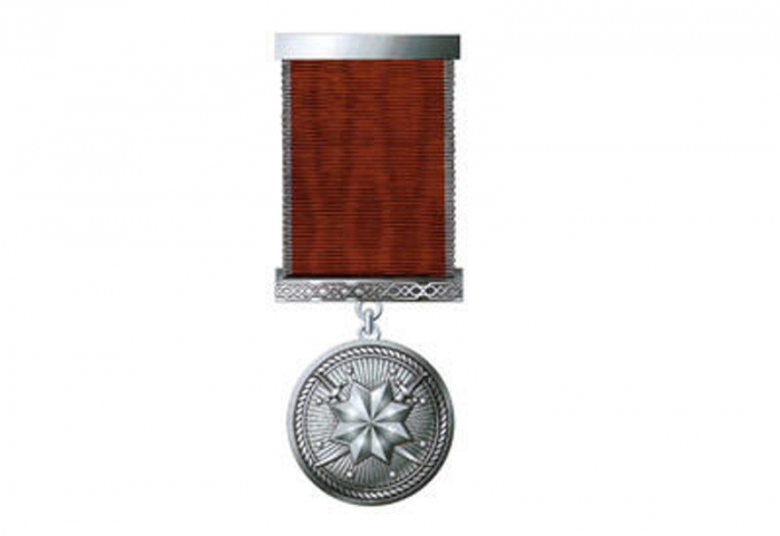 """Group of Azerbaijani servicemen honored with medal """"For military services"""""""