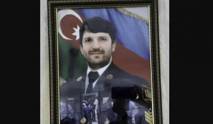 Şəhid Elvin Mustafayev dəfn olundu