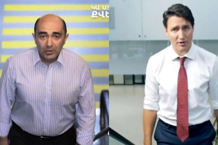 Erməni deputat oğurluq etdi -  VİDEO