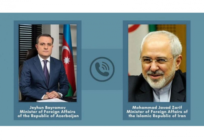 جيهون بيرموف أجرى محادثات هاتفية مع وزير الخارجية الإيراني