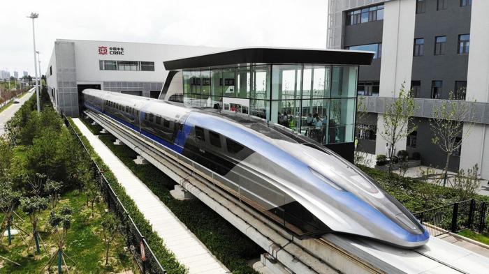 Chine: un train capable de faire du 600 km/h présenté –   Vidéos