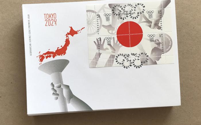 Tokio Olimpiadasına həsr olunmuş poçt markaları buraxılıb