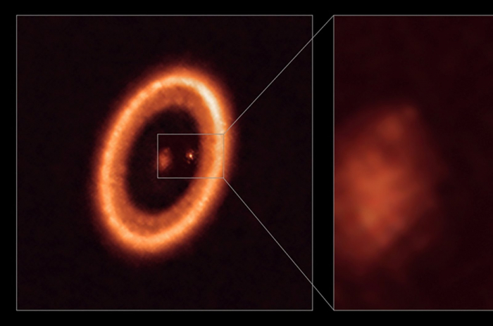 Scientists detect moon-forming disc around exoplanet for the first time