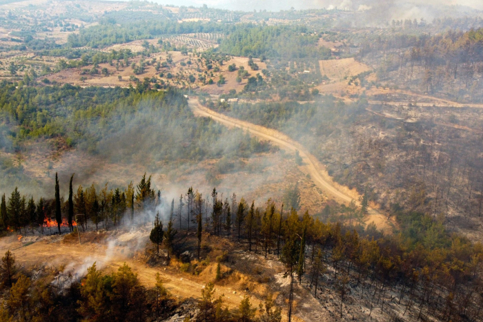 Turkey battles wildfires for 3rd day in a row