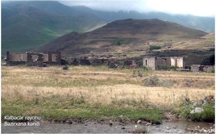 El pueblo Bezirkhana de Kalbajar -  VIDEO