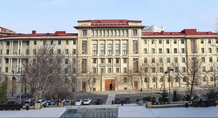 Le projet final sur la restauration des territoires libérésprésenté au gouvernementazerbaïdjanais