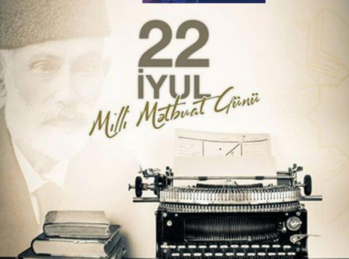 اليوم هو يوم الصحافة الوطنية في أذربيجان