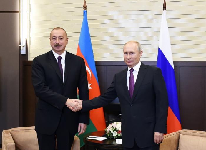 اجتماع بين رئيسي أذربيجان وروسيا يبدأ