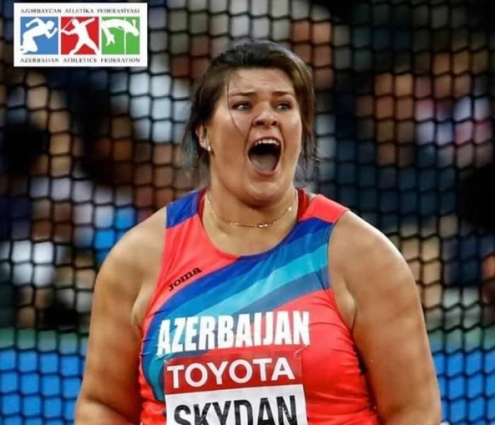 Azerbaijani female athlete claims gold at Balkan Championships