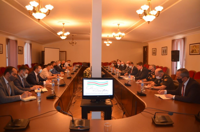 Azerbaijan discusses measures to prevent fires in liberated lands