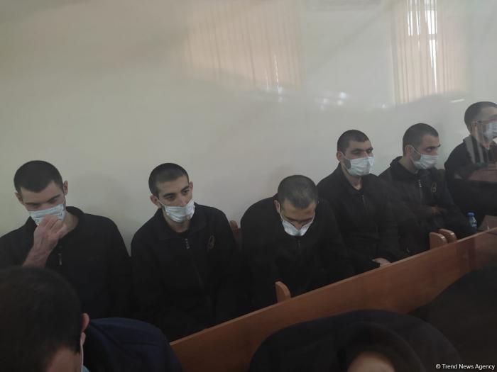 13 Armenian terrorists give testimony at Baku trial