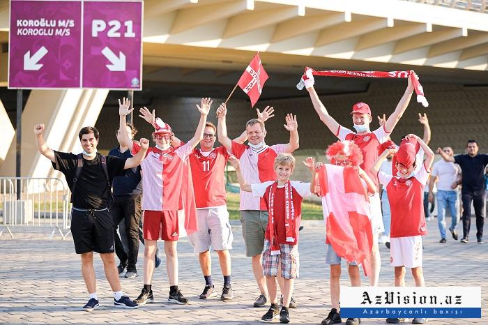 PHOTOS  from Baku hostingCzech Republic-Denmark match as part of EURO 2020