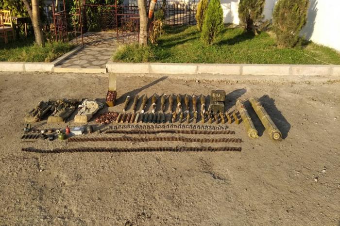 Ammunition found in Azerbaijan's Shusha