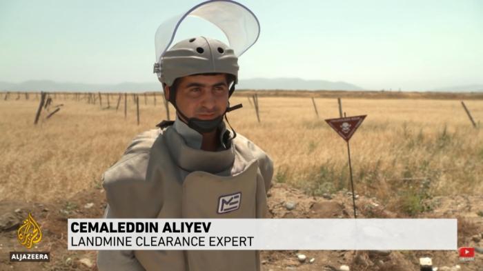 Al Jazeera prepares report on victims of blasts caused by Armenian landmines -  VIDEO