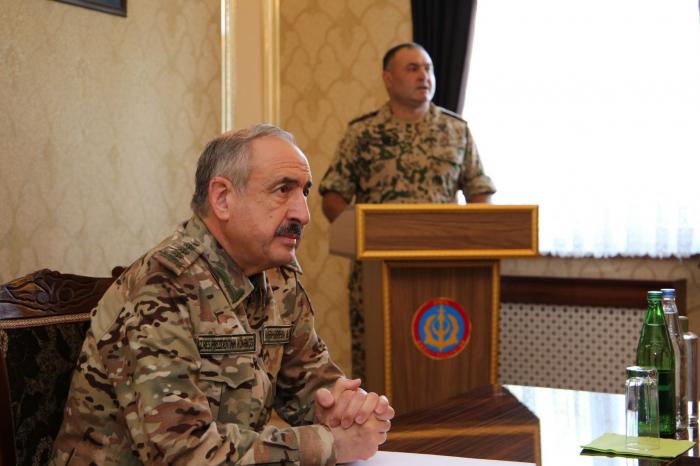 Colonel-General visits Azerbaijan's Nakhchivan Autonomous Republic