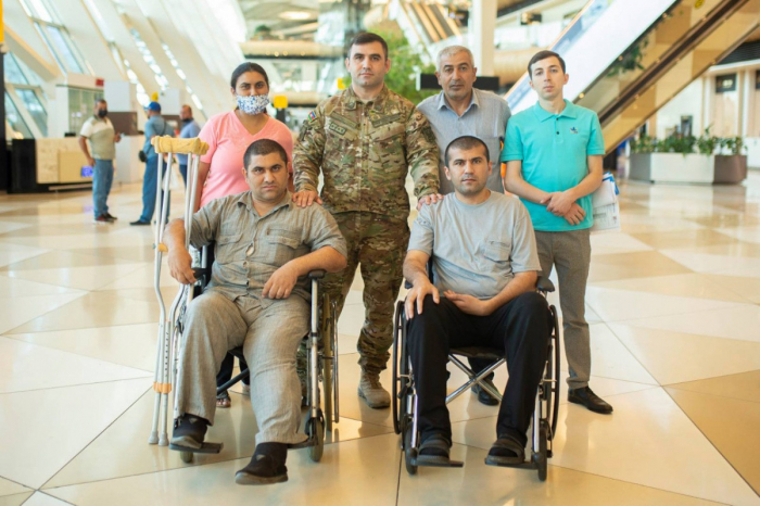 10 more war veterans sent to Turkey for treatment –  PHOTO