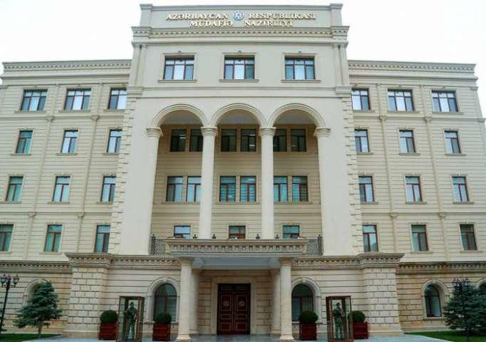 "Azerbaijan MoD comments on ""incident"" on border with Armenia"
