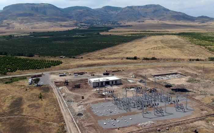 Azerbaijan building new substations in liberated Aghdam -  VIDEO
