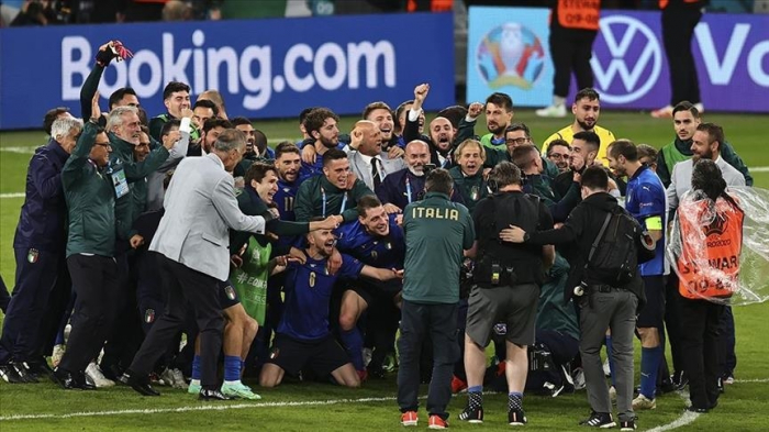 Italy advance to Euro 2020 final after beating Spain on penalties