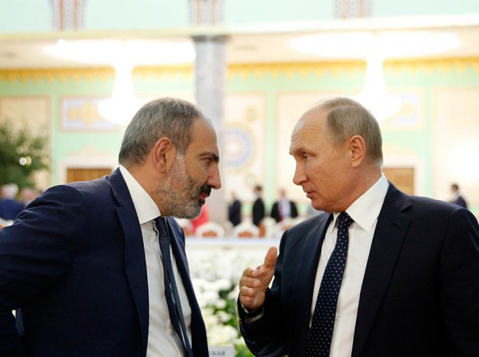 Pashinián vuelve a reunirse con Putin