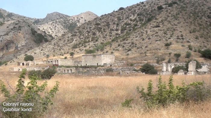 Chalabilar village of Azerbaijan's Jabrayil district –   VIDEO