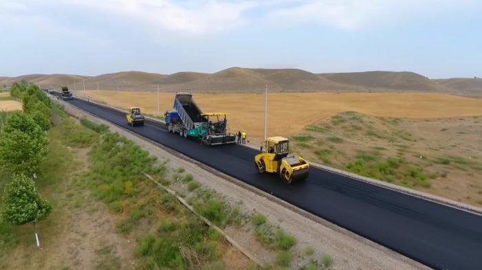 Azerbaijan starts asphalting of
