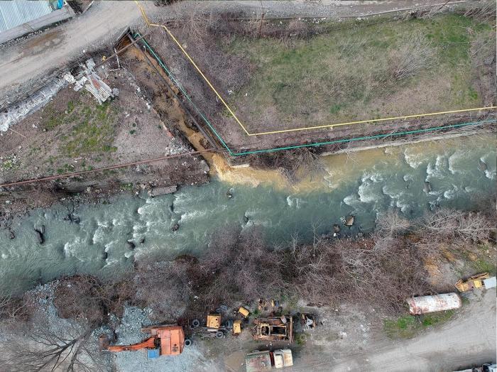 WWF investigates environmental disaster on Azerbaijan's Okhchuchay River