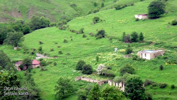 Sheylanli village of Azerbaijan's Lachin district –  VIDEO