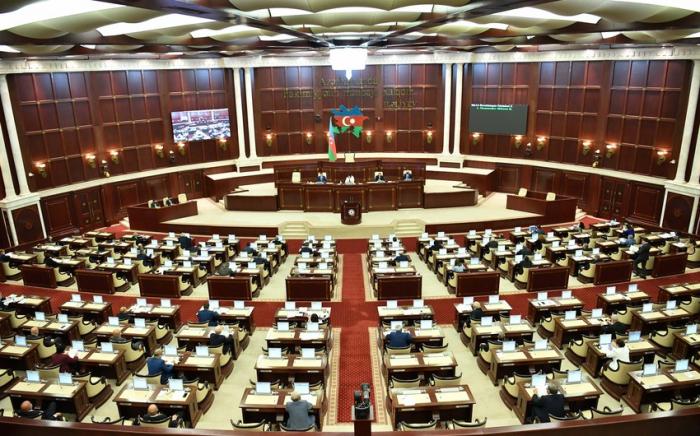 Azerbaijani parliament wraps up extraordinary session