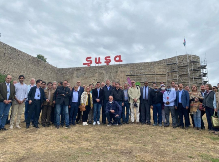 Visit of representatives of diplomatic corps to Azerbaijan