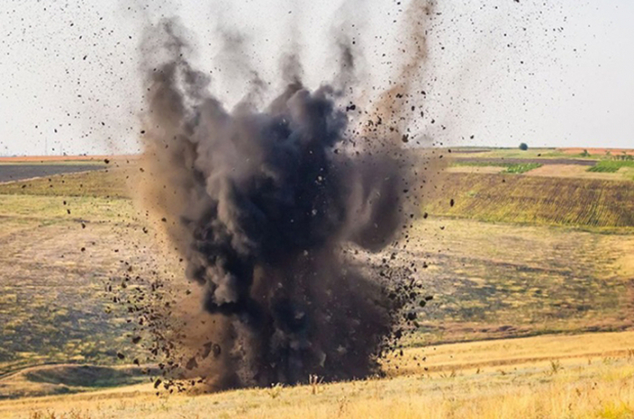 Man hit by cluster bomb in Fuzuli district