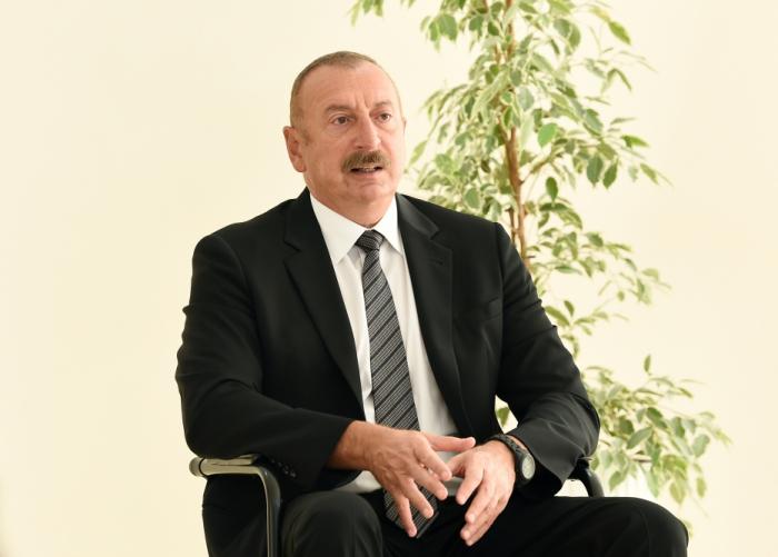 """""""Bütün şəhidlərimizin qisasını döyüş meydanında aldıq"""" -    İlham Əliyev"""