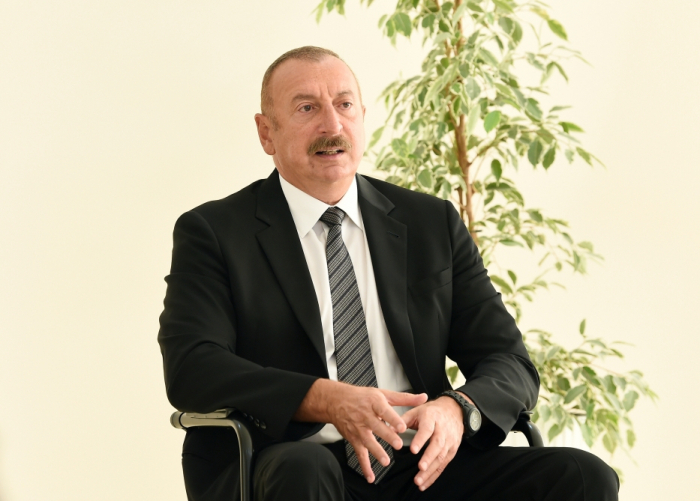 """""""There is no territorial unit called Nagorno-Karabakh""""  - 15 important citations from President Aliyev"""