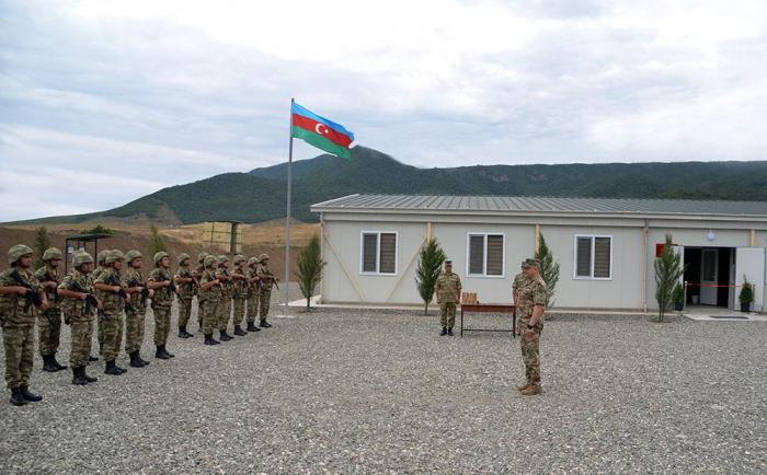 La siguiente unidad militar se inaugura en la región de Aghdam - VIDEO