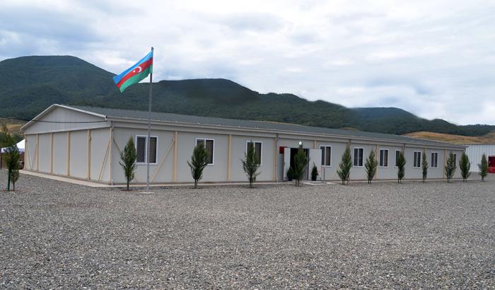 Neue Militäreinheit in Agdam eingeweiht –   VIDEO